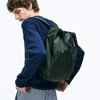 Lacoste Men's Motion Technical Nylon Collapsible Backpack