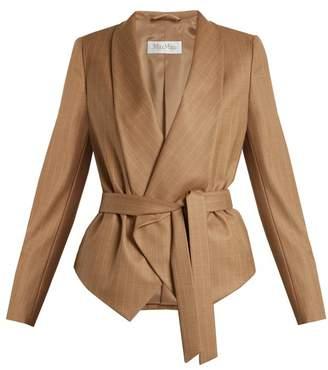 Max Mara Giunto Jacket - Womens - Brown Stripe