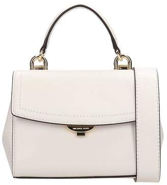 Michael Kors White Leather Satchel Bag