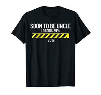 Soon To Be Uncle 2019 Funny Pregnancy Loading Christmas Tee