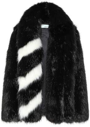 Off-White Faux fur coat