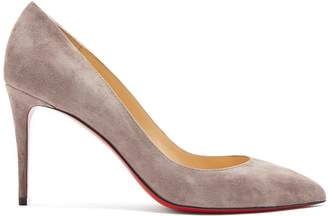 Christian Louboutin Pigalle Follies 85 suede pumps