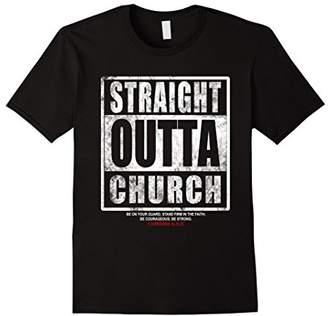 Church's Christian t shirt | Straight Outta Shirt | t shirt