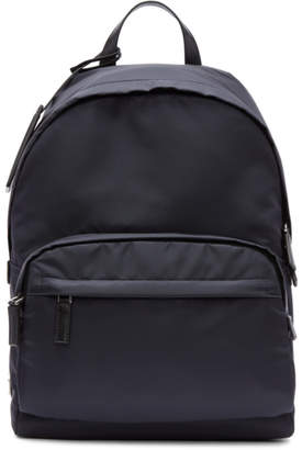 Prada Navy Mountain Fabric Backpack
