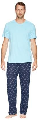 Tommy Bahama Knit Pants Pajama Set Men's Pajama Sets