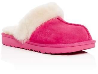 UGG Girls' Cozy II Suede & Shearling Slippers - Little Kid, Big Kid