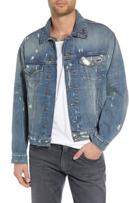 The Kooples Oversize Denim Jacket