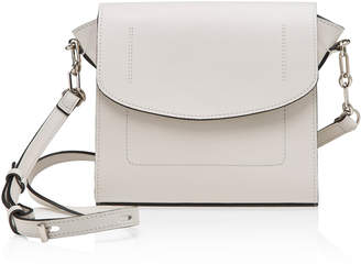 Joanna Maxham The Runthrough White Leather Bag