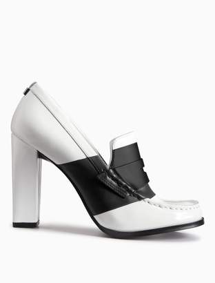 Calvin Klein adelina patent leather pump