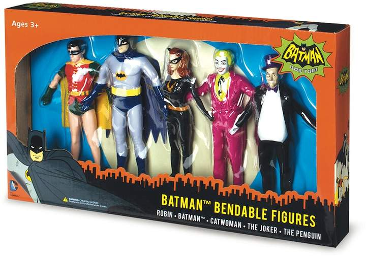 Nj croce Batman Classic TV Series Bendable Boxed Set by NJ Croce