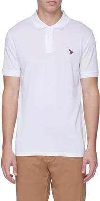 Paul Smith Zebra appliqué polo shirt