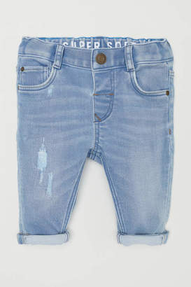 H&M Slim fit Jeans - Light denim blue - Kids
