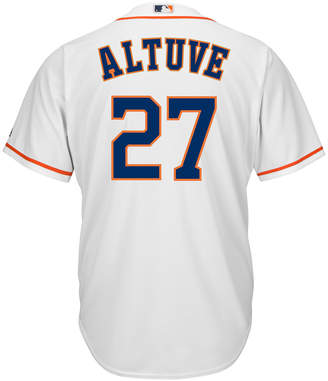 Majestic Men Jose Altuve Houston Astros Replica Jersey