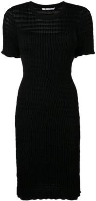 Alexander Wang fitted T-shirt dress