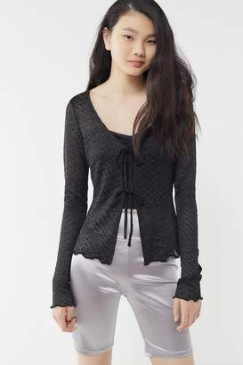 Urban Outfitters Jackie Tie-Front Cardigan