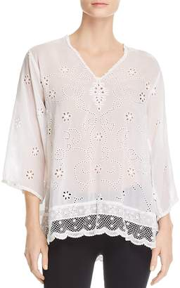 Johnny Was Charming Eyelet Tunic