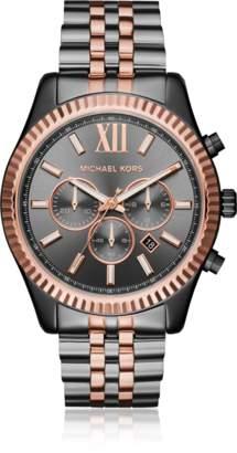 Michael Kors Lexington Two Tone Chronograph Men's Watch