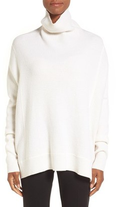 Women's Nordstrom Collection Cashmere Boxy Turtleneck $399 thestylecure.com