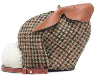 Bunny tweed mini crossbody bag
