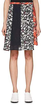 Acne Studios Women's Hanni Floral Miniskirt