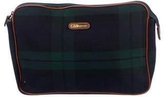 Polo Ralph Lauren Plaid Canvas Bag