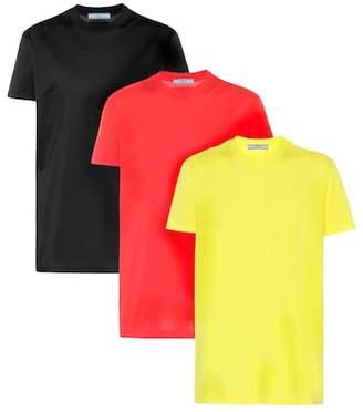 Prada 3 pack of cotton T-shirts
