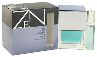Shiseido Zen Men Eau De Toilette Spray Plus Free 1/2 oz Mini Spray 3.4 oz