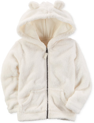 Carter's Faux-Fur Animal-Ear Hoodie, Toddler Girls (2T-5T) $32 thestylecure.com