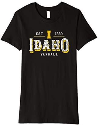 NCAA Womens University of Idaho Vandals Women's T-Shirt RYLID12