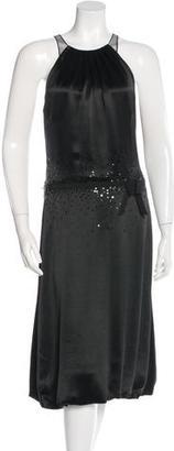 Vera Wang Sleeveless Embellished Dress $145 thestylecure.com