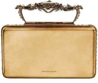 Alexander McQueen Embellished Cigarette Case Clutch