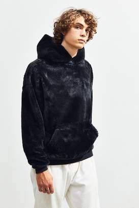 Urban Outfitters Faux Fur Hoodie Sweatshirt
