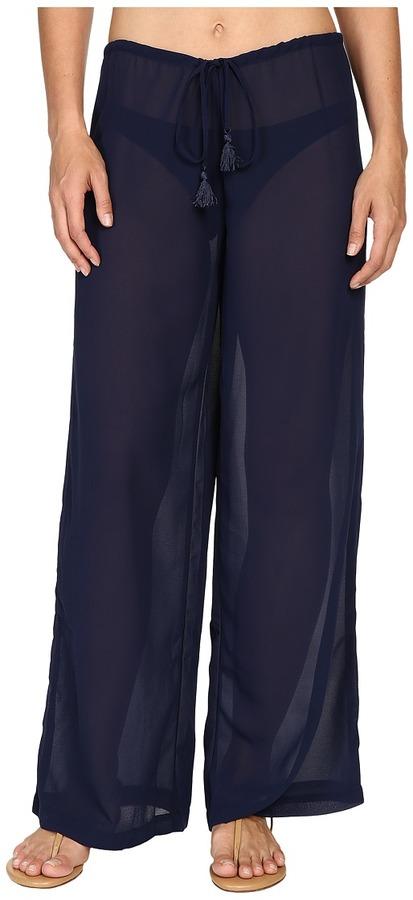 Tommy Bahama Chiffon Drawstring Pants Cover-Up