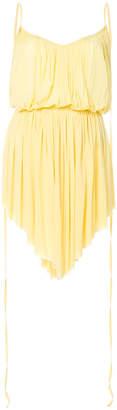 Nina Ricci pleated mini dress