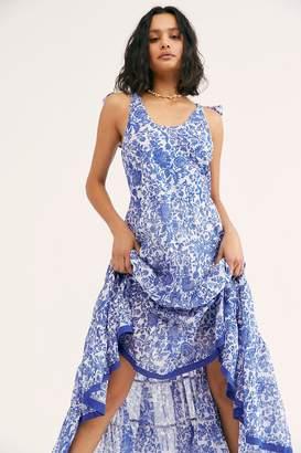 Kika's Printed Midi Dress