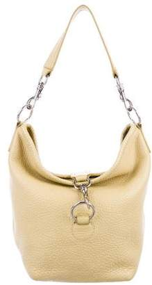 Miu Miu Pebbled Leather Hobo