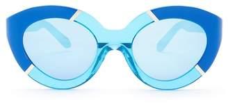 Karen Walker Women's Poolside Flowerpatch Sunglasses