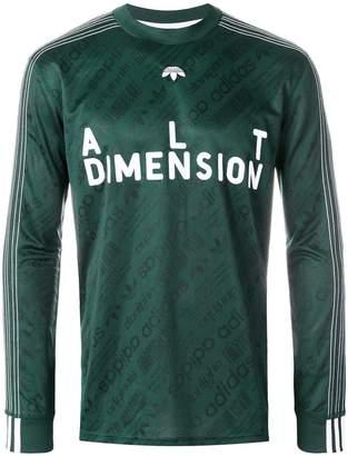 adidas By Alexander Wang Soccer long-sleeved top
