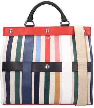 Sonia Rykiel Multicolor Leather Gm Cindy Tote Bag