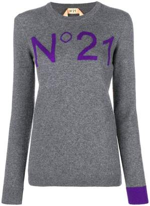 No.21 cashmere sweatshirt