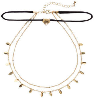 H&M Three-strand necklace - Black