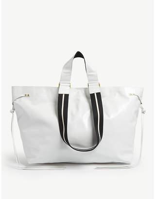 At Selfridges Isabel Marant White Leather Tote Bag