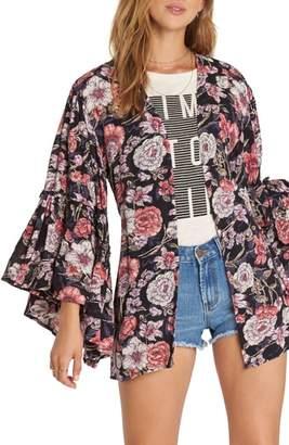 Billabong All Flored Floral Kimono