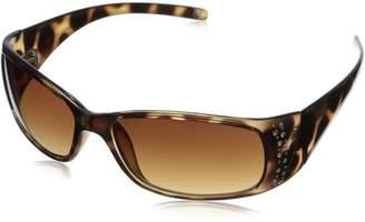 Foster Grant FOSUB Women's Amber Oval Sunglasses