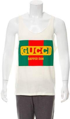 Gucci 2018 Dapper Dan Sleeveless Shirt