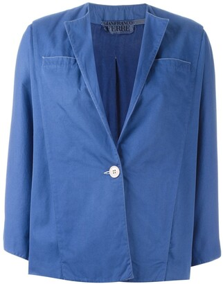 Gianfranco Ferre Pre-Owned single button jacket