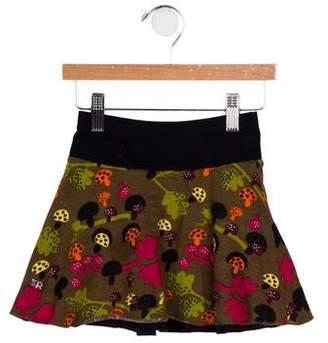 Sonia Rykiel Girls' Knit Printed Skirt