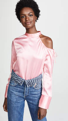 Edition10 Cold Shoulder Blouse