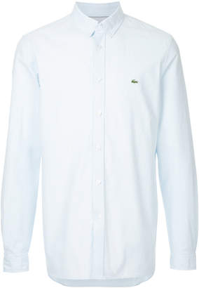Lacoste logo embroidered shirt