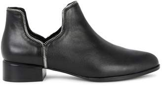 Senso Bailey VII Black Leather Ankle Boots